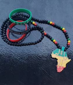 Rasta Africa Map Set II