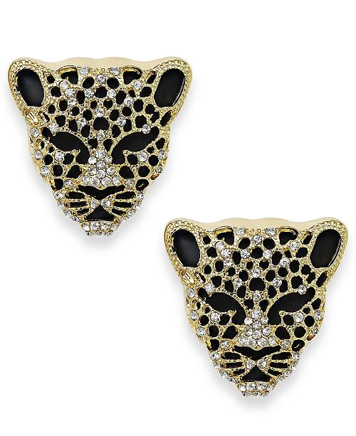 Jaguar Stud Earrings