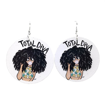 Total Diva Earrings