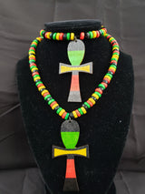 RBG Necklace Set