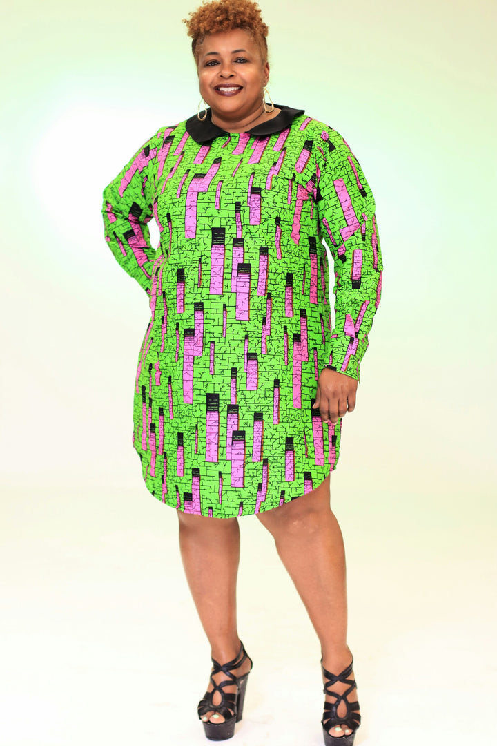 Aziza Shirt Dress