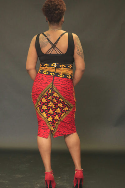 Akilah diamond Skirt