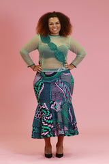 Ankara Goddess Skirt
