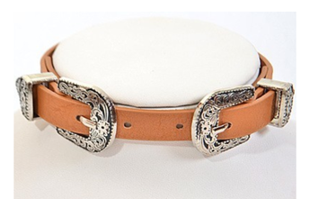 Camel Belt Buckle Choker