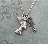 Nefertiti Ankh Necklace