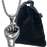 Fist Pendant Necklace