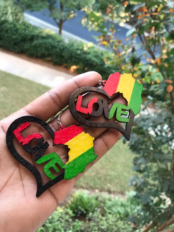 Love Africa Earrings