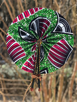 Seashell Ankara Fan