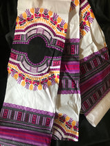Purple Dashiki Fabric