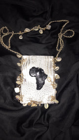 Africa Crossbody Chain Purse