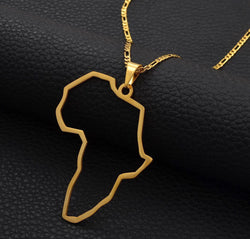 Motherland Map Necklaces