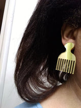 Acrylic Comb Earrings