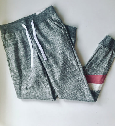 Fleece Lined Chevron Sweats