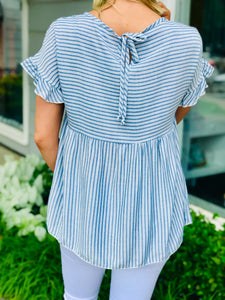 Freedom Striped Top