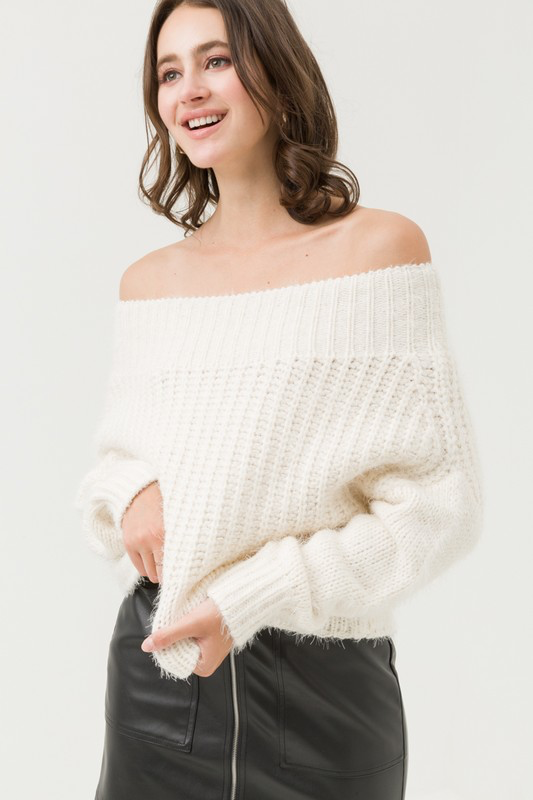 Flawless Fuzzy Sweater