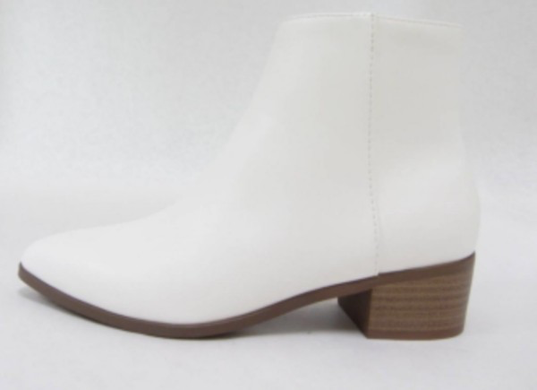 Trendiest White Bootie Shoe