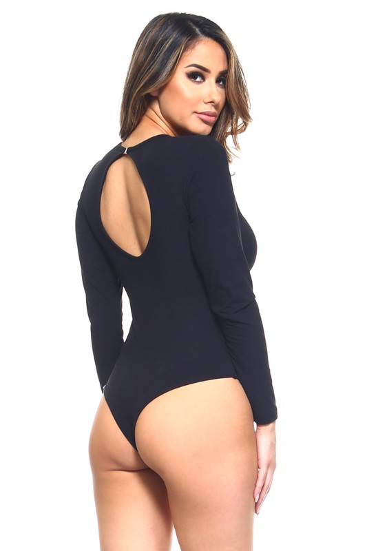 Holiday Key Hole Bodysuit