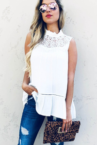 Elegant In Lace Blouse