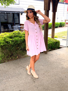 Around town baby doll dress