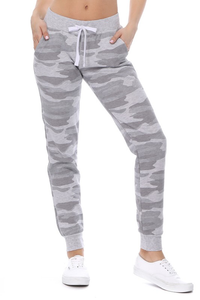 Fleece Lined Camo Sweats