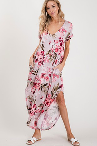 Blooming Blush Maxi