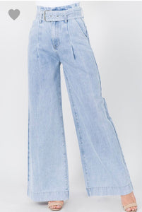 The Good Days Wide Leg Bell Bottoms