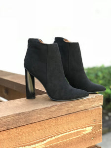 Black Up Heel Bootie