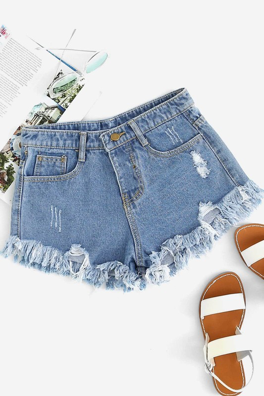 FLIRTY Denim Shorts