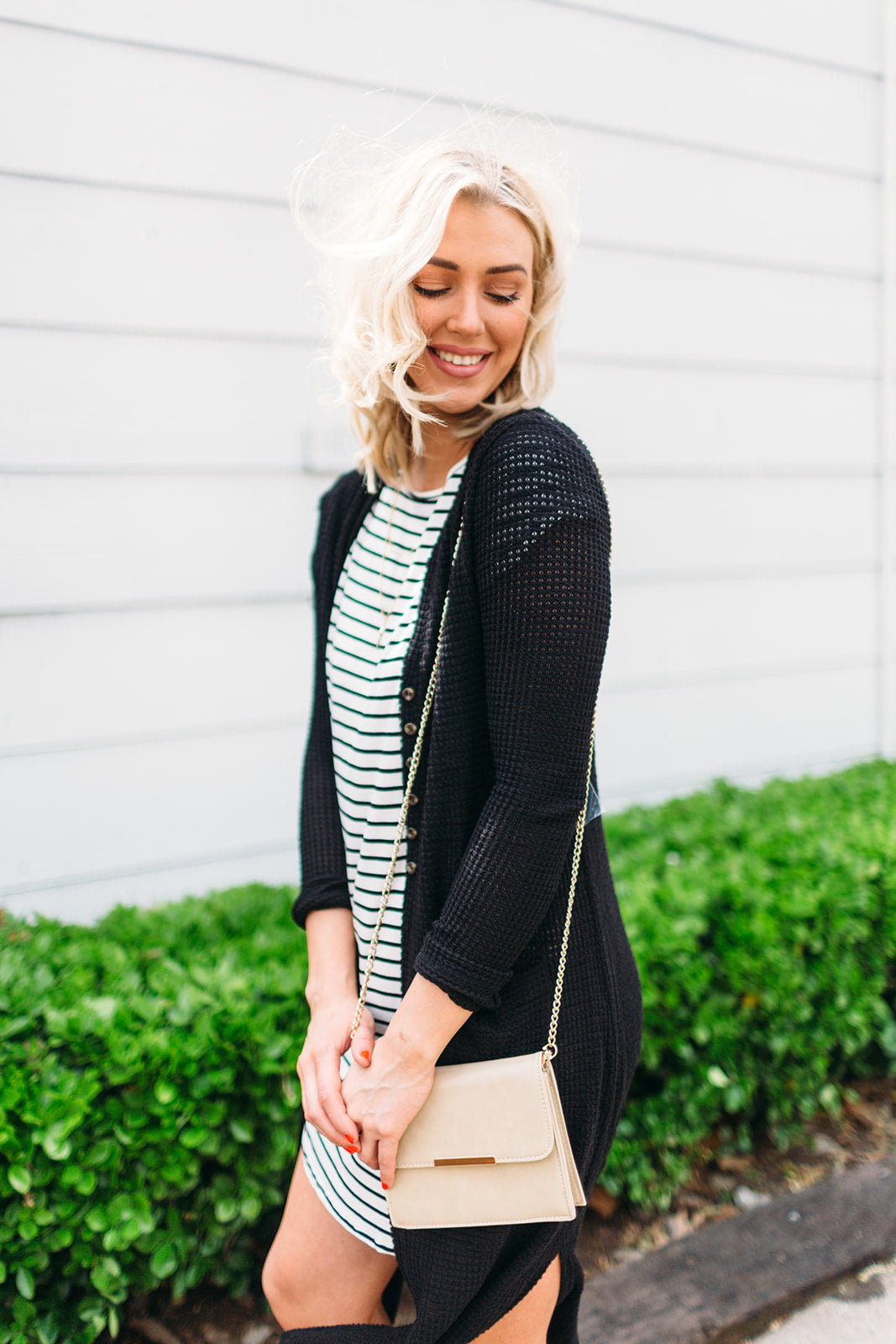 STRIPE Tunic T-Shirt Dress