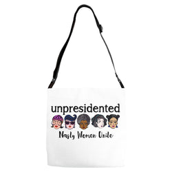 Adjustable Strap Unpresidented Tote