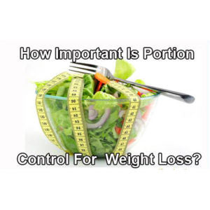 How important is portion control?