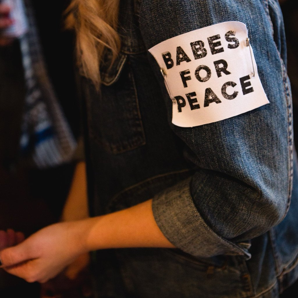 Babes for Peace Patch