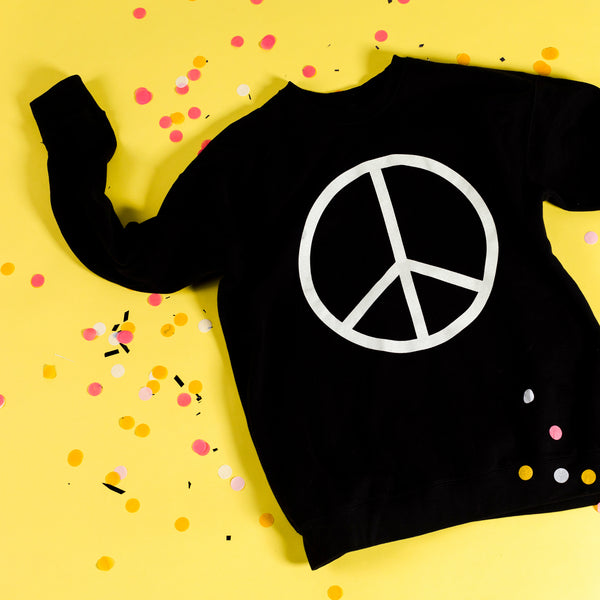 Peace Crewneck Sweatshirt