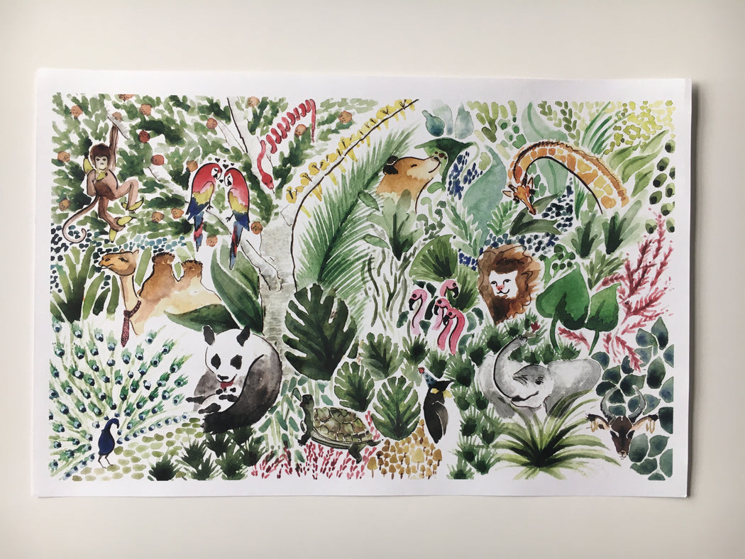 Jungle Print by Julie Martin
