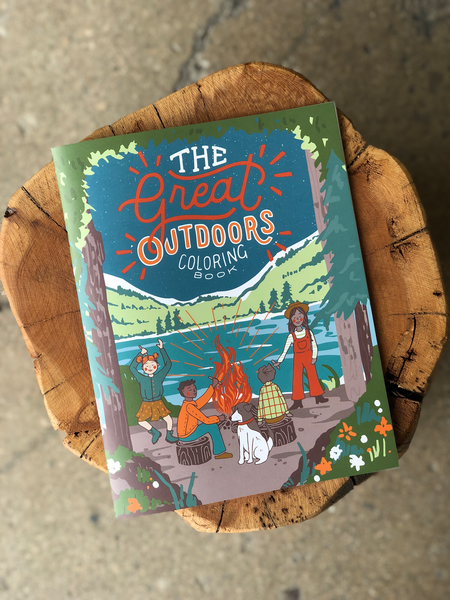The Great Outdoors Coloring Book