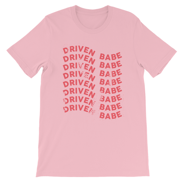 Driven Babe Unisex Pink Tee