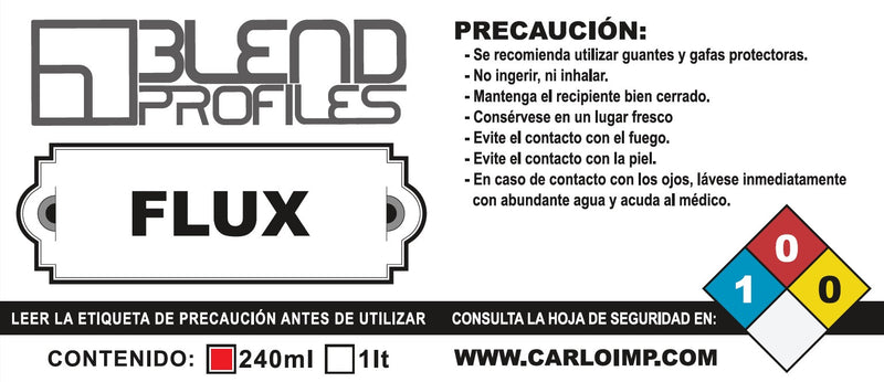 FUNDENTE / FLUX 237ml