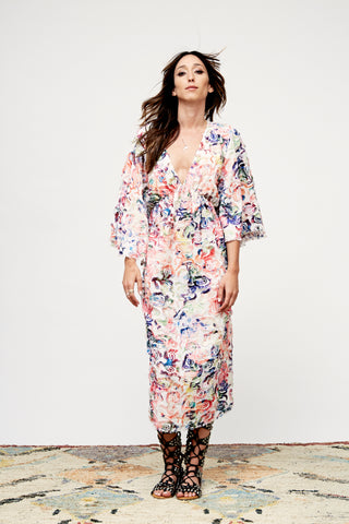Skydancer Embroidered Dress