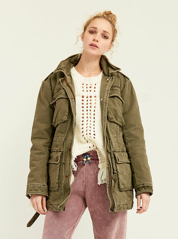 Pop Accent Field Jacket