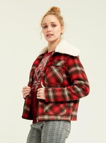 Timberland Plaid Jacket