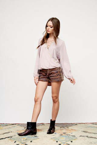 Dakota Grace Denim Shorts