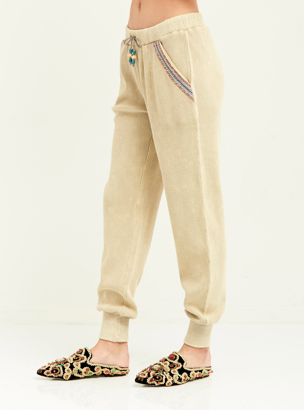 Tribal Embroidered Jogger - Boundless North Online Store