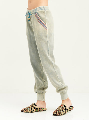 Tribal Embroidered Jogger