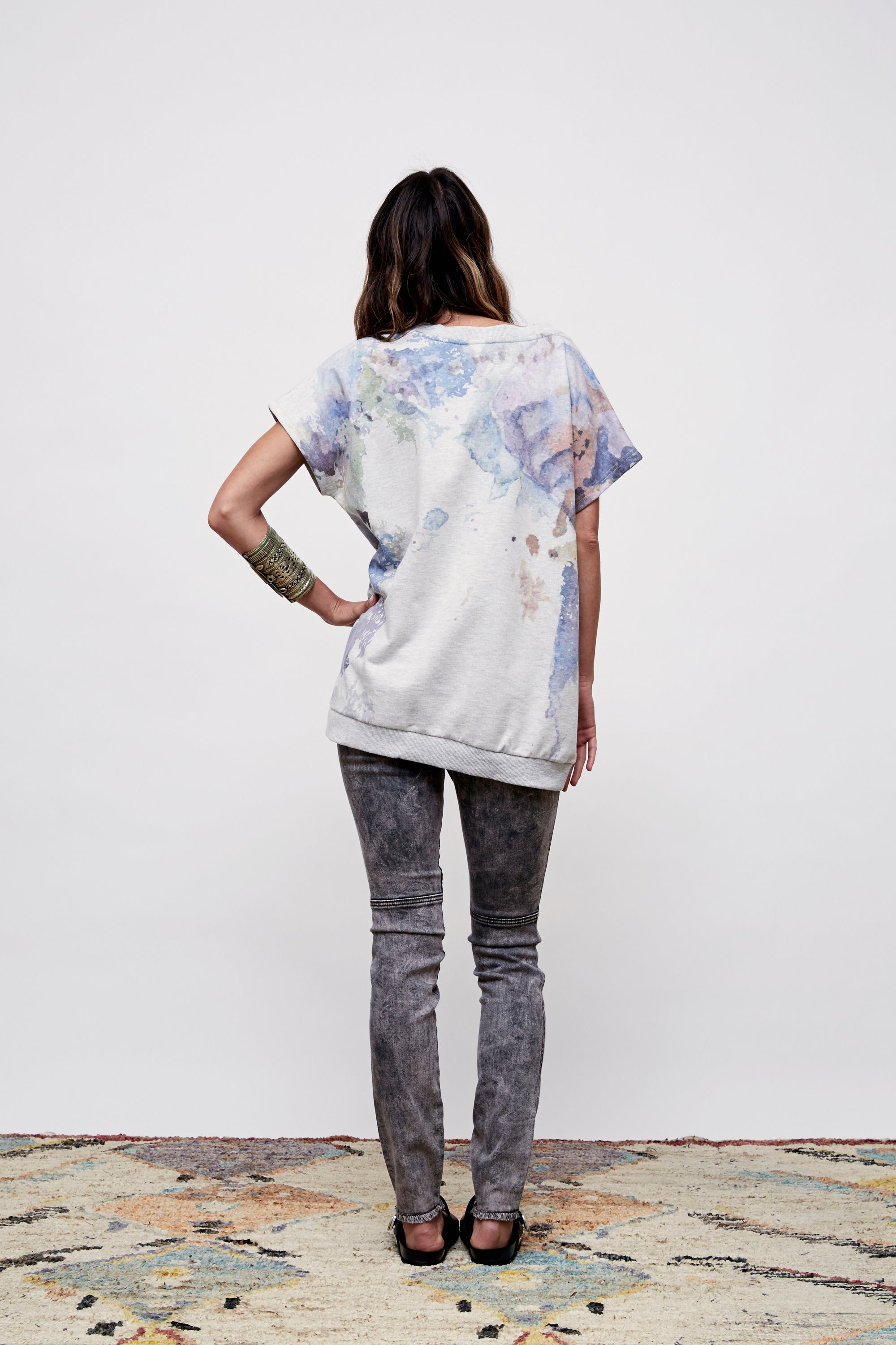 Waterfall Short Sleeve Tunic - Boundless North Online Store