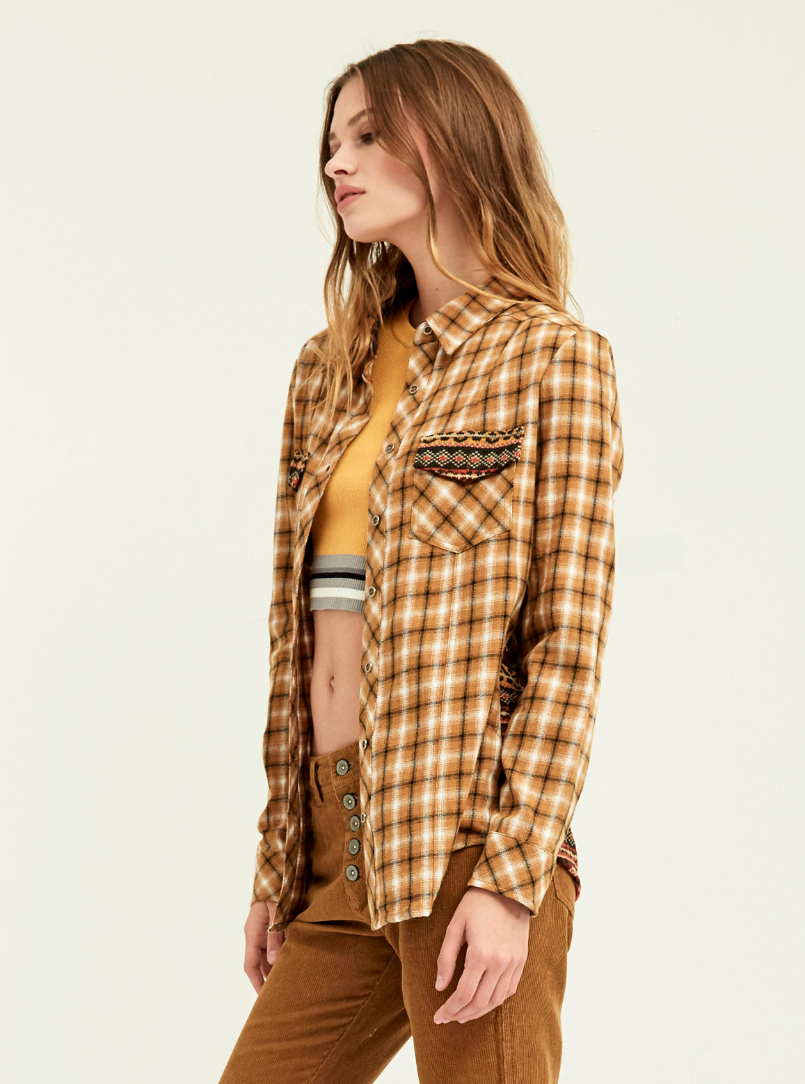 Print Blocked Camp Shirt - Boundless North Online Store