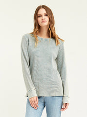 Distressed L/S Thermal - Boundless North Online Store