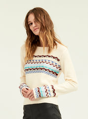 Intarsia Sweater - Boundless North Online Store