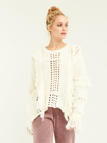 High-Low Hendrix Sweater