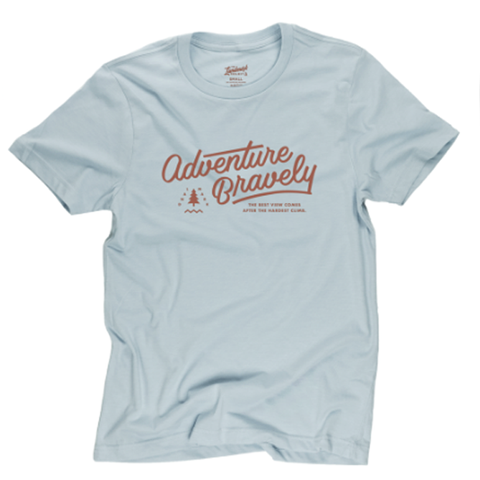 Adventure Bravely T-shirt