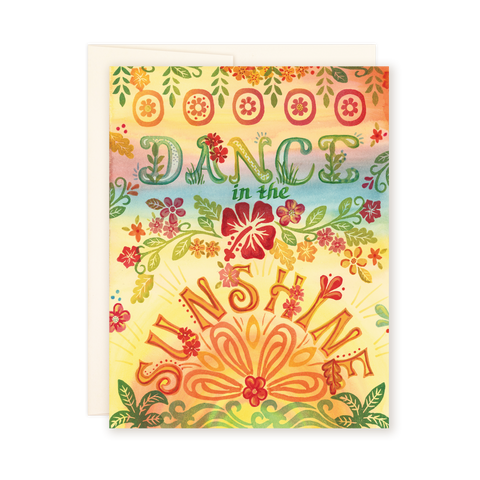 Dance in the Sunshine Card